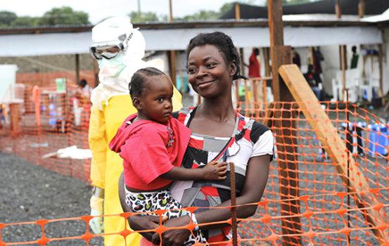 Ebolaepidemien i Vestafrika har været et af vores helt store fokusområder i 2014