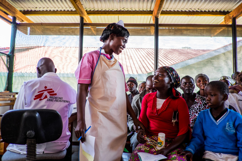 HIV afdeling på Arua Regional hospital